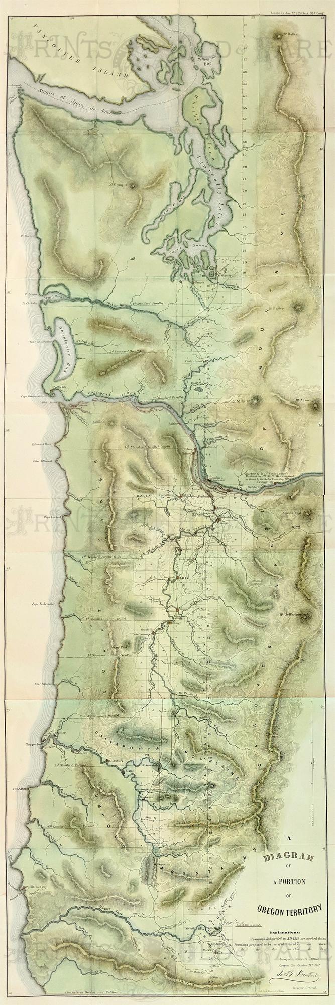 Picture of: Prints Old Rare Washington Antique Maps Prints